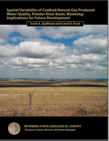 Spatial Variability of Coalbed Natural Gas Produced Water Quality, Powder River Basin, Wyoming: Implications for Future Development (2012)