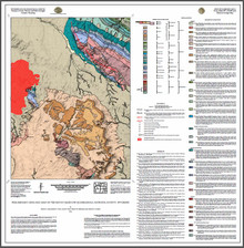 Preliminary Geologic Map of the Ervay Basin SW Quadrangle, Natrona County, Wyoming (2016)