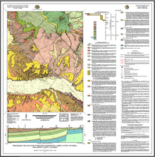 Preliminary Geologic Map of the Dixon Quadrangle, Carbon County, Wyoming, and Moffat County, Colorado (2016)