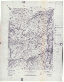 Preliminary Geologic Map of the Lewiston District, South Pass (1984)