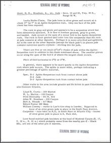 H.K. Diehl and A. Branham etc., Jade (1945)