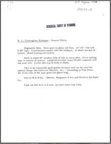 R.L. Cunningham Feldspar: Beaver Claim (1943)