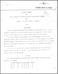 A Brief Report on the Eadsville-Thetford-Morning Dew-Kathrine Groups near Casper, Natrona County, Wyoming (1907)
