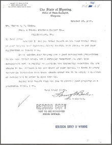 Report on the Gold Crater Group, Keystone, Albany County, Wyoming (1905)