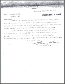 Report on the Maudem Group, Lake Creek near Holmes, Albany County, Wyoming (1904)