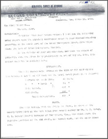 A Brief Report on the King of the Camp Property, Grand Encampment, Wyoming (1904)