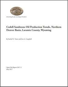 Codell Sandstone Oil Production Trends, Northern Denver Basin, Laramie County, Wyoming (2017)