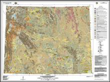 Surficial Geologic Map of Wyoming (1998)