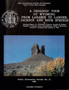 Geologic Tour of Wyoming from Laramie to Lander, Jackson and Rock Springs (1986)