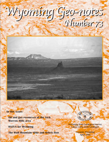 Wyoming Geo-Notes—Number 73 (2002)