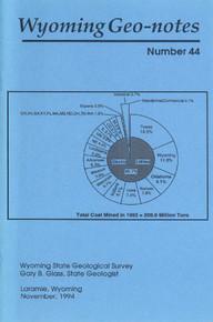 Wyoming Geo-Notes—Number 44 (1994)