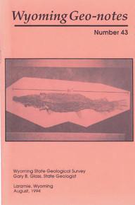 Wyoming Geo-Notes—Number 43 (1994)