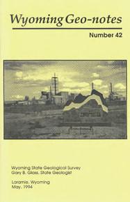 Wyoming Geo-Notes—Number 42 (1994)