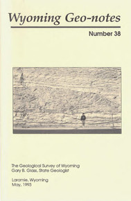 Wyoming Geo-Notes—Number 38 (1993)