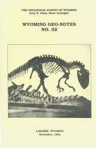 Wyoming Geo-Notes—Number 32 (1991)