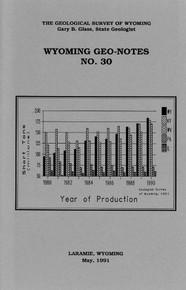 Wyoming Geo-Notes—Number 30 (1991)