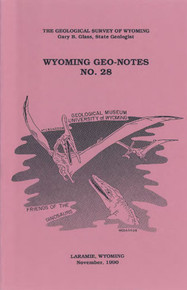 Wyoming Geo-Notes—Number 28 (1990)