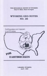 Wyoming Geo-Notes—Number 26 (1990)