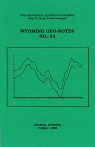 Wyoming Geo-Notes—Number 24 (1989)