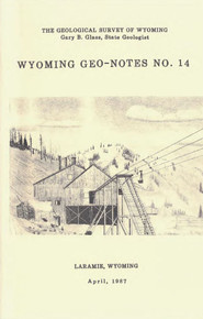 Wyoming Geo-Notes—Number 14 (1987)
