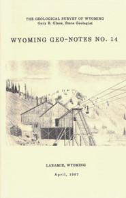 Wyoming Geo-Notes—Number 14 (1987)