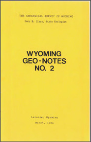 Wyoming Geo-Notes—Number 2 (1984)
