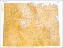 Wyoming Contour Map (1916)