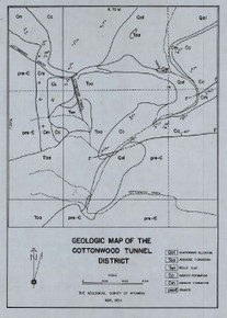 Geologic Map of the Cottonwood Tunnel District (1934)