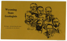 Wyoming State Geologists (postcard) (1988)