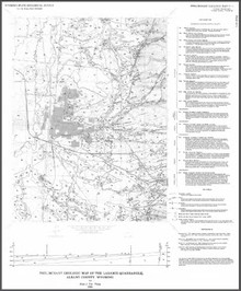 Preliminary Geologic Map of the Laramie Quadrangle, Albany County, Wyoming (1995)