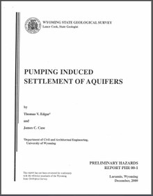 Pumping Induced Settlement of Aquifers (2000)