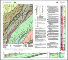 Preliminary Geologic Map of the Bridger Pass Quadrangle, Carbon County, Wyoming (2017)