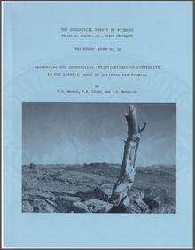 Geological and Geophysical Investigations of Kimberlite in the Laramie Range of Southeastern Wyoming (1981)