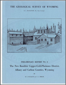 The New Rambler Copper-Gold-Platinum District, Albany and Carbon Counties, Wyoming (1968)