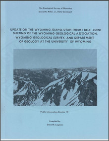 Update on the Wyoming-Idaho-Utah Thrust Belt: Joint Meeting of the Wyoming Geological Association, Wyoming Geological Survey, and Department of Geology at the University of Wyoming (Abstracts) (1979)