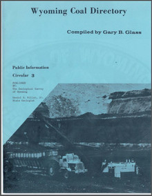 Wyoming Coal Directory (1976-A)