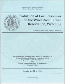 Evaluation of Coal Resources on the Wind River Indian Reservation, Wyoming (1995)