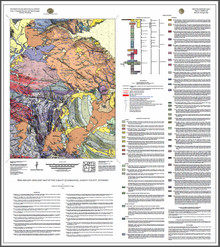 Preliminary geologic map of the Albany quadrangle, Albany County, Wyoming (2018)