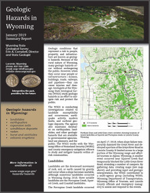 Geologic Hazards in Wyoming—Summary Report (2019)