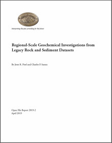 Regional-scale geochemical investigations from legacy rock and sediment datasets (2019)