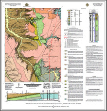 Preliminary geologic map of the Earnest Butte quadrangle, Sweetwater County, Wyoming (2020)