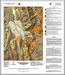 Preliminary surficial geologic and landslide maps of the Blind Bull Creek and Pickle Pass quadrangles, Lincoln County, Wyoming (2020)