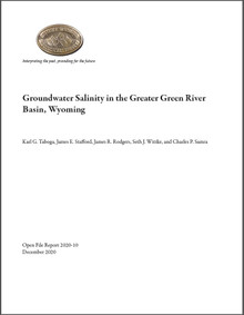 Groundwater Salinity in the Greater Green River Basin, Wyoming (2020)