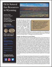 Oil & Natural Gas Resources in Wyoming January 2021 Summary Report (2021)