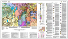 Preliminary Geologic Map of the Rock River 30' x 60' Quadrangle, Albany, Laramie, and Platte Counties, Wyoming (2021)