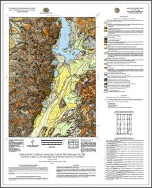 Preliminary Surficial Geologic Map of the West Half of the Jackson Lake 30' x 60' Quadrangle, Teton County, Wyoming (2021)