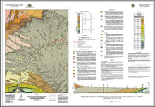 Preliminary Geologic Map of the Richards Gap Quadrangle, Sweetwater County, Wyoming, and Daggett County, Utah (2021)