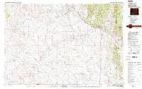 USGS 30' x 60' Metric Topographic Map of Newcastle, WY Quadrangle