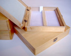 Wooden Slide Storage Box for Large Slides 75x38x1mm, 100-place