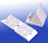 Biopsy Processing Cassettes - White, 500 pcs/pack